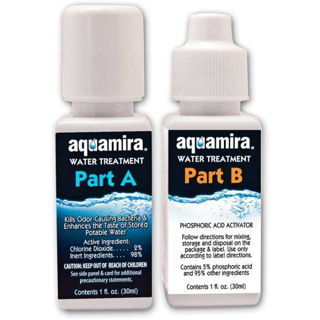 photo: Aquamira Water Treatment Drops chemical water treatment