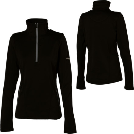 photo: Columbia First Traverse Fleece Pullover fleece top
