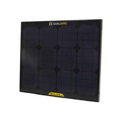 photo: Goal Zero Boulder 30 solar panel