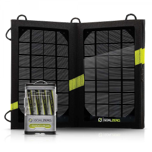 photo: Goal Zero Guide 10 Plus Solar Kit solar panel