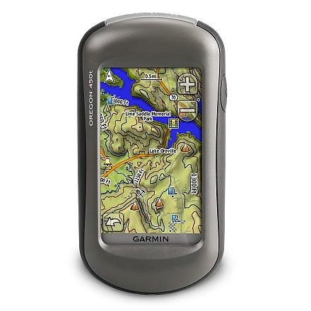 photo: Garmin Oregon 450t handheld gps receiver