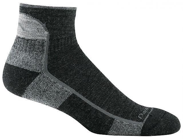 photo: Darn Tough Women's Merino 1/4 Sock Cushion running sock