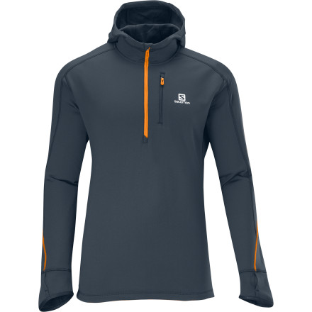 photo: Salomon Swift Midlayer Hoody long sleeve performance top