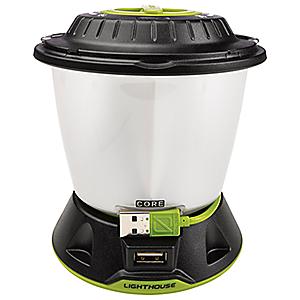 photo: Goal Zero Lighthouse Core Lantern & USB Power Hub battery-powered lantern