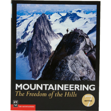 photo: The Mountaineers Books Mountaineering: The Freedom of the Hills climbing book