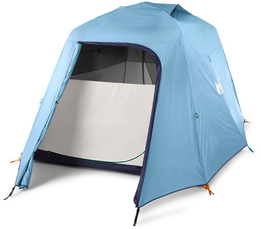 photo: REI Grand Hut 6 Tent three-season tent
