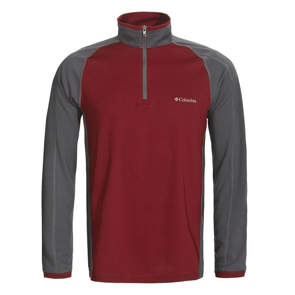photo: Columbia Quila Valley Half Zip long sleeve performance top