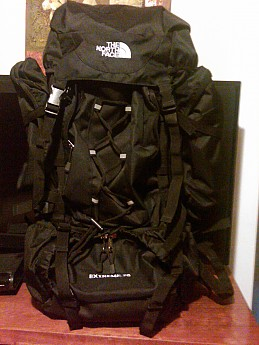 the north face 80l backpack
