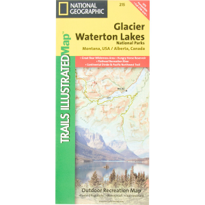 National Geographic Montana Rocky Mountain Maps