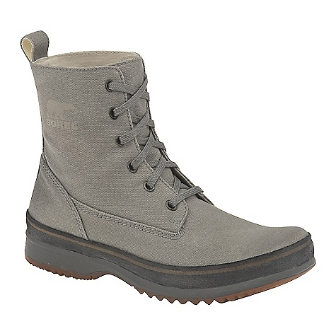 photo: Sorel Woodbine Surplus Canvas Leather winter boot