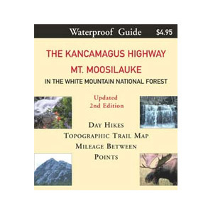 Map Adventures Kancamagus Highway/Mount Moosilauke Map