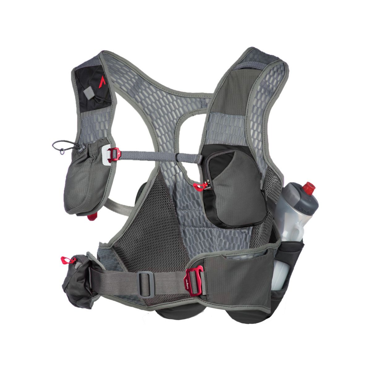 photo: UltrAspire Kinetic Bottle Vest hydration pack