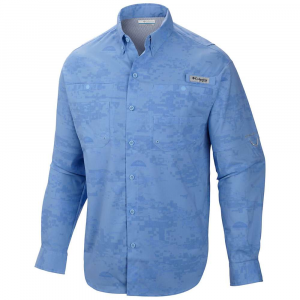 Columbia PFG Solar Camo Long Sleeve Woven