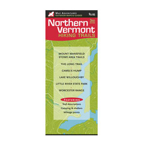 Map Adventures Northern Vermont Hiking Trails