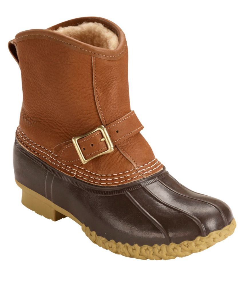 "photo: L.L.Bean Bean Boots,  Shearling Lounger Pull-On 7"" winter boot"