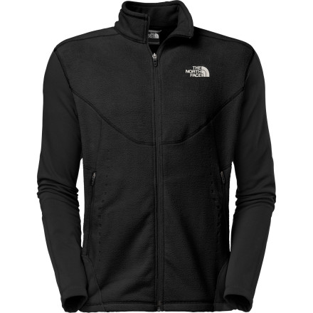 photo: The North Face Men's Jacquard Split Full Zip fleece jacket