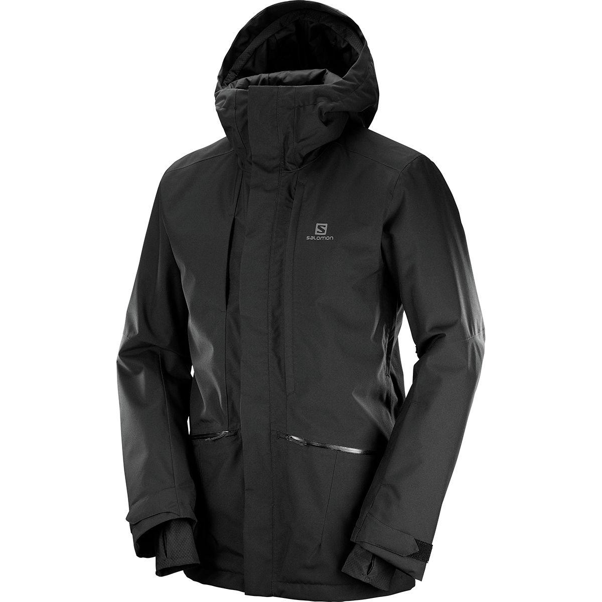 photo: Salomon QST Snow Jacket snowsport jacket