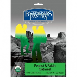 Backpacker's Pantry Organic Peanut Butter & Raisin Oatmeal