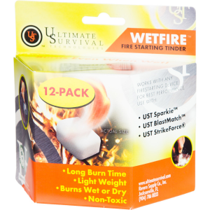 Ultimate Survival Technologies WetFire Tinder