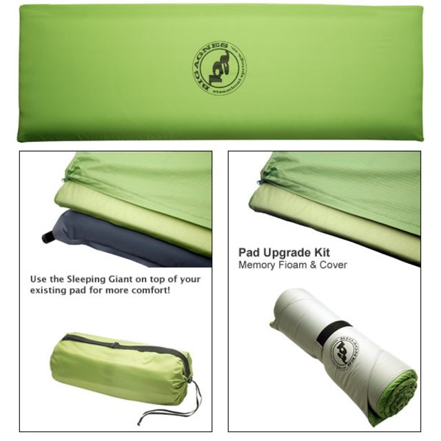 Big Agnes Sleeping Giant Memory Foam Pad (Upgrade Kit)