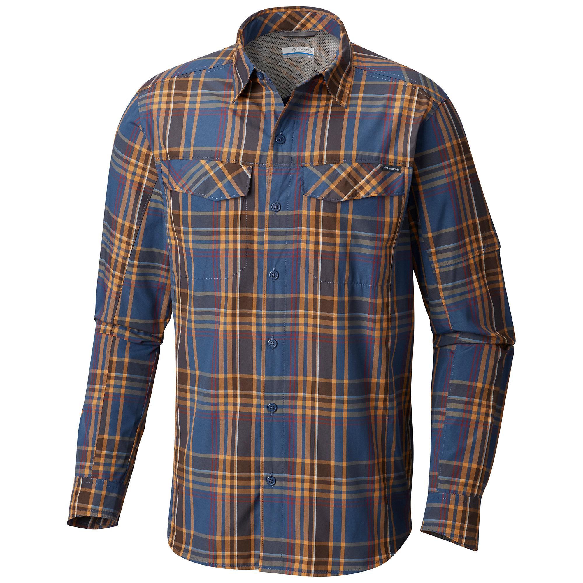 photo: Columbia Silver Ridge Plaid Long Sleeve Shirt hiking shirt