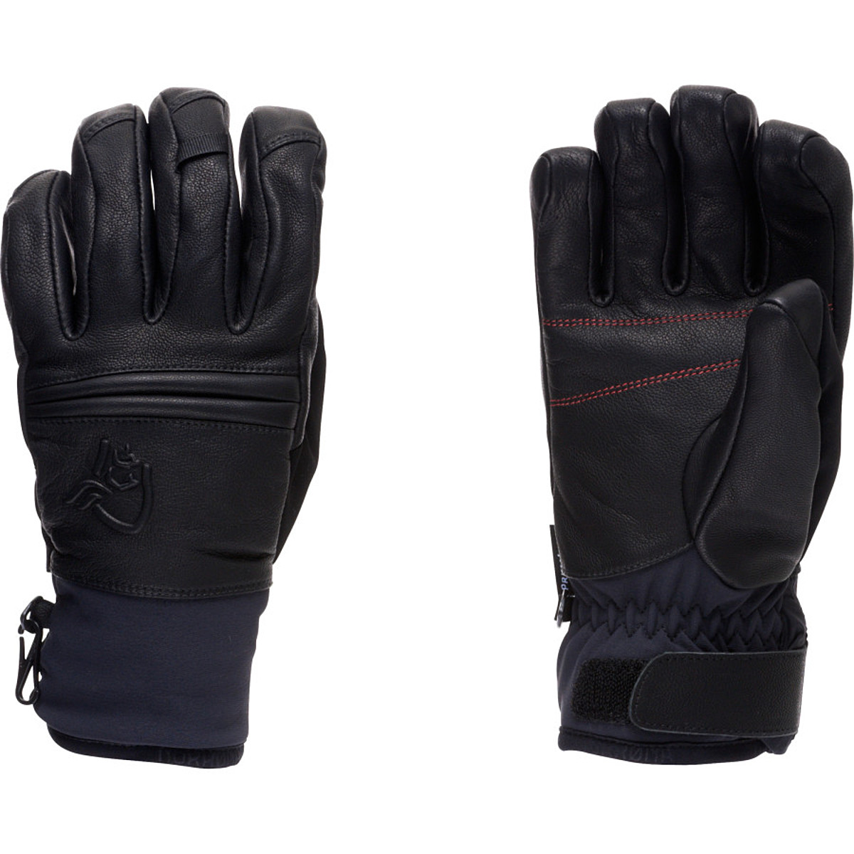 photo: Norrona røldal dri insulated Short Leather Gloves insulated glove/mitten