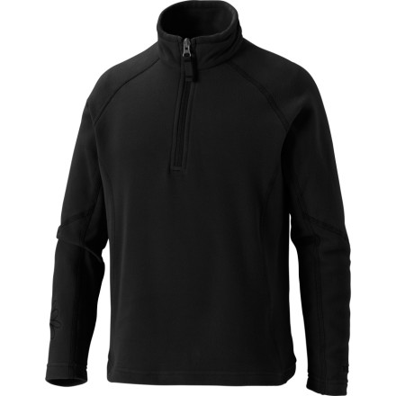 photo: Marmot Girls' Lumina Half Zip fleece top