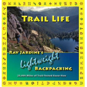 photo of a Ray-Way camping/hiking/backpacking book