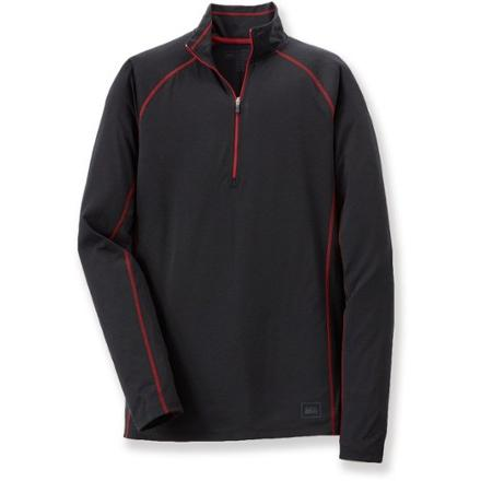 REI Lightweight MTS Polartec Power Dry Zip-T