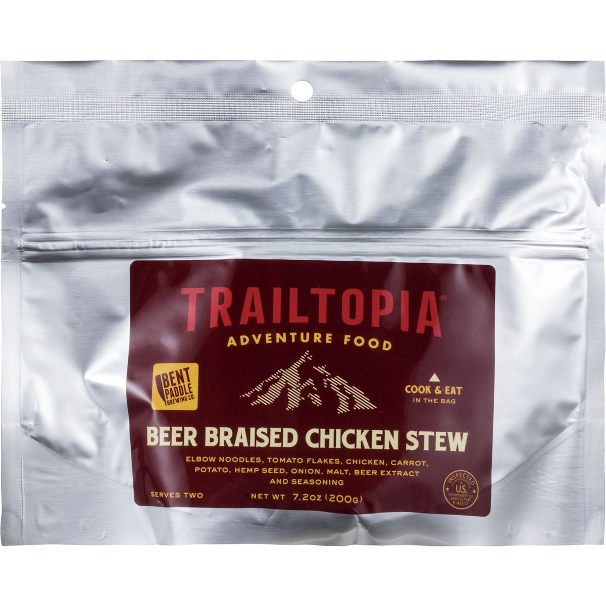 Trailtopia Beer Braised Chicken Stew
