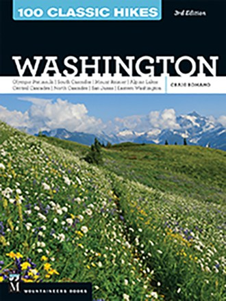 photo: The Mountaineers Books 100 Classic Hikes in Washington us pacific states guidebook