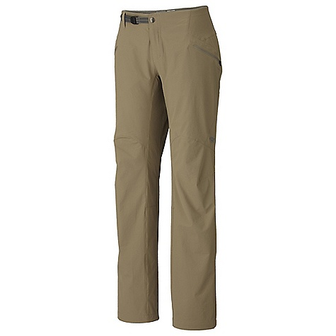 photo: Mountain Hardwear Ancona Trek Pant soft shell pant