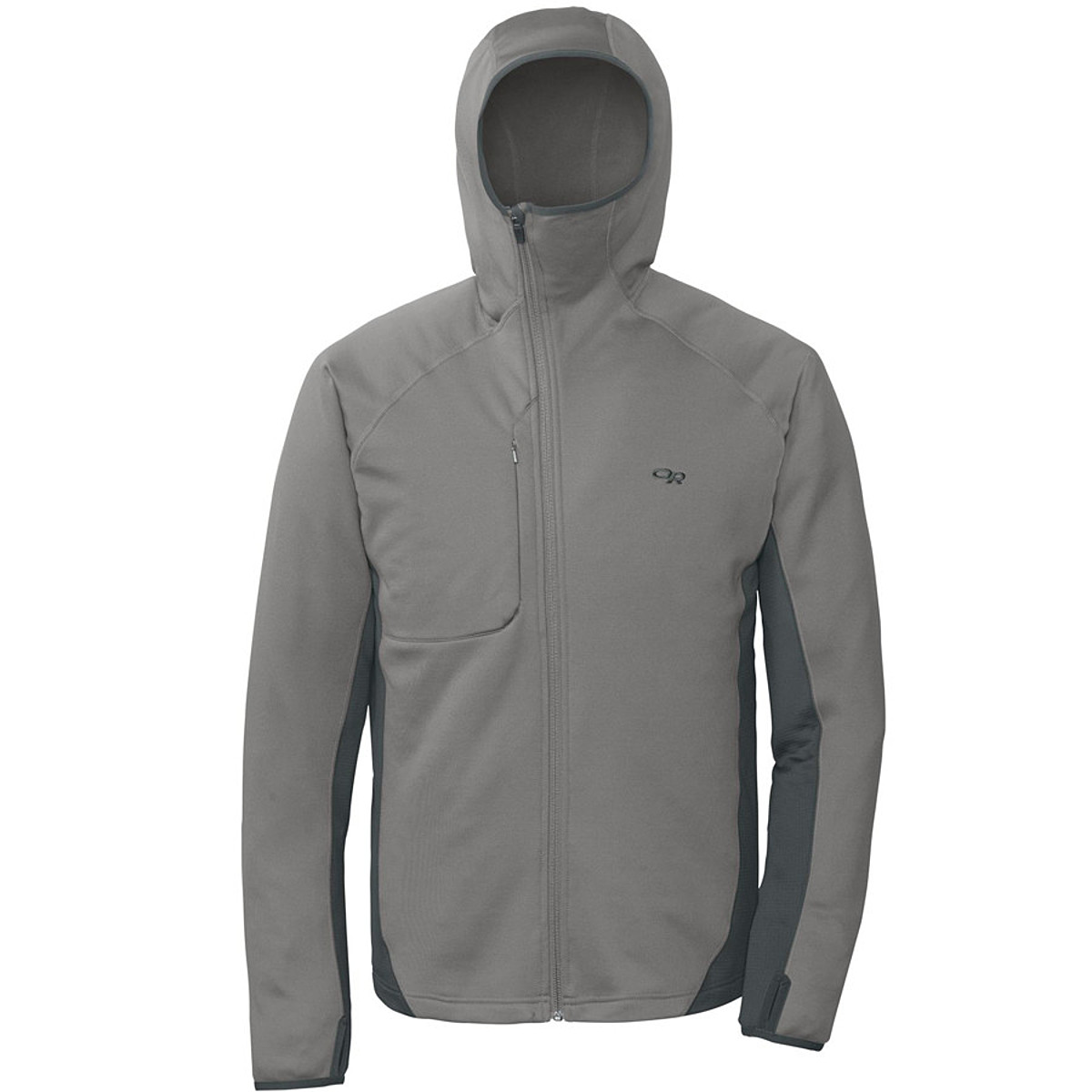 photo: Outdoor Research Radiant Hybrid Hoody fleece jacket