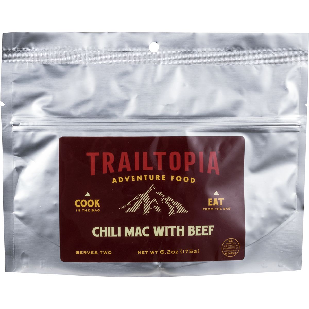 Trailtopia Chili Mac with Beef
