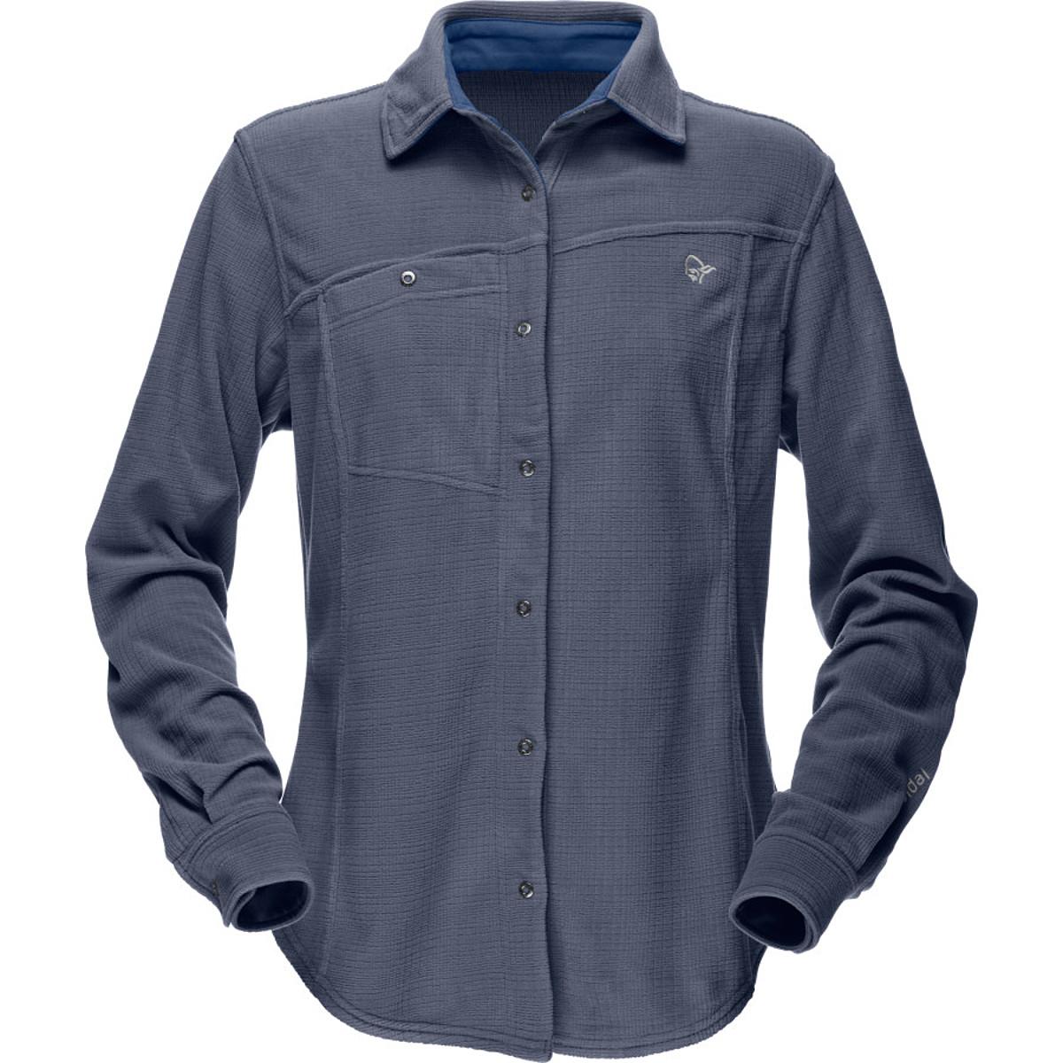 photo: Norrona Women's Rldal Warm1 Long Sleeve Shirt fleece top