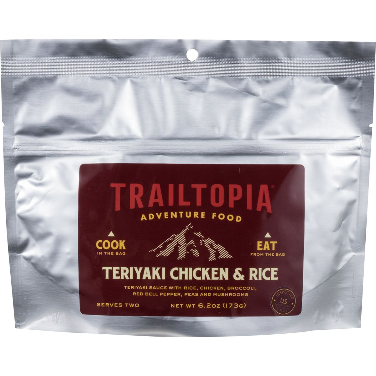 Trailtopia Teriyaki Chicken & Rice