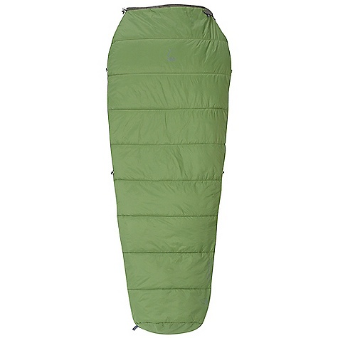 photo: Sierra Designs Wicked Hot 45 warm weather synthetic sleeping bag