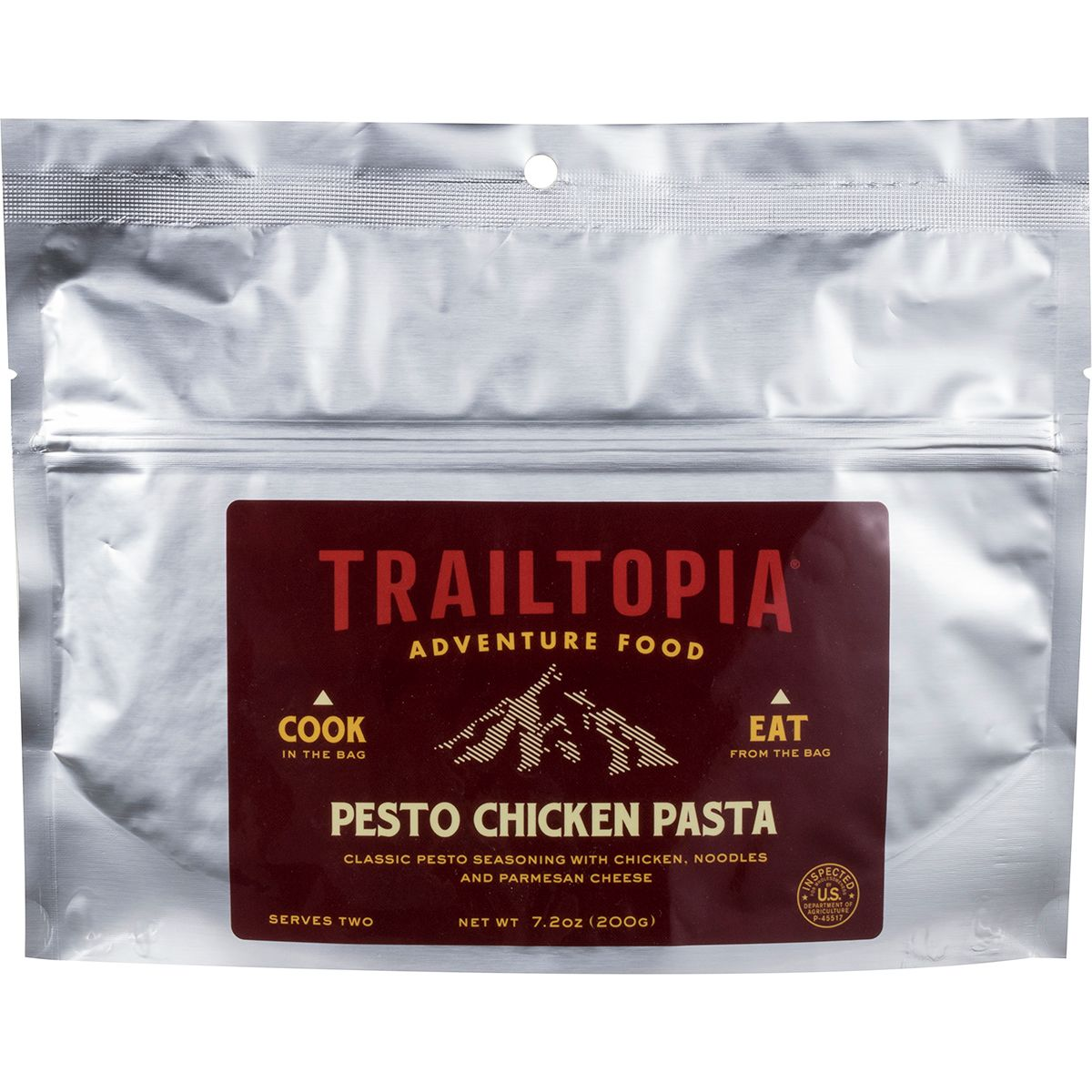 Trailtopia Pesto Chicken Pasta