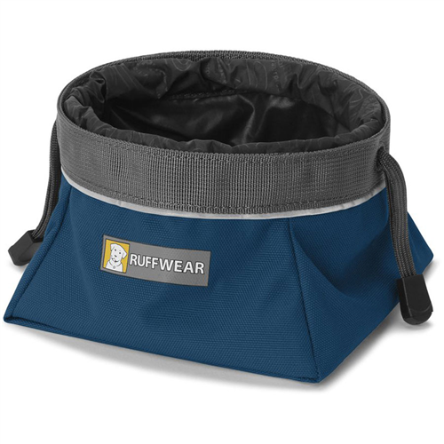 photo: Ruffwear Quencher Cinch Top dog bowl