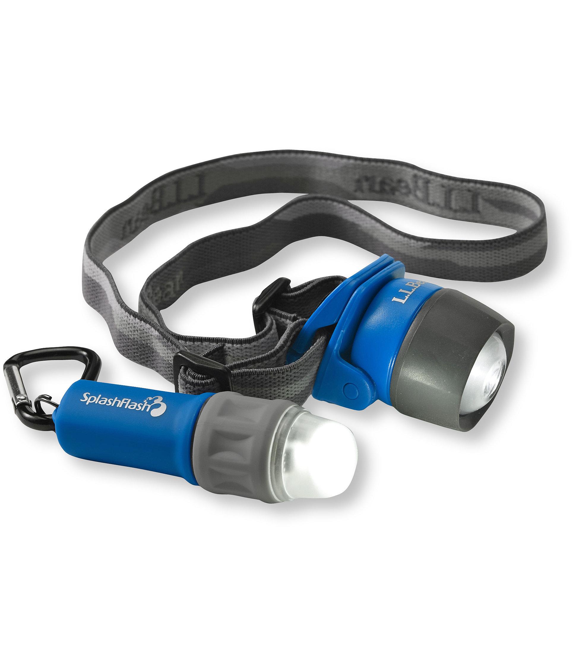 photo: L.L.Bean SplashFlash LED Combo headlamp