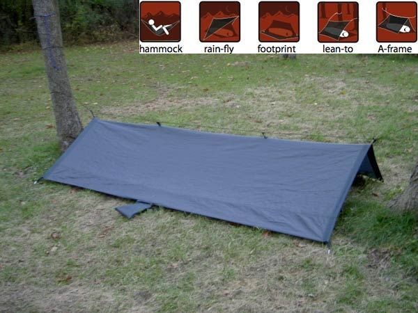 photo: Grand Trunk All Terrian Hybrid Shelter tarp/shelter