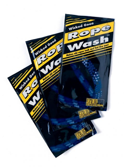 photo: Sterling Rope Wicked Good Rope Wash equipment cleaner/treatment