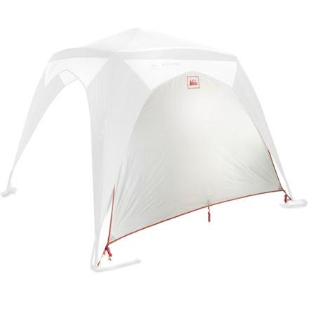photo: REI InCamp Shelter Wing/Wall tent accessory