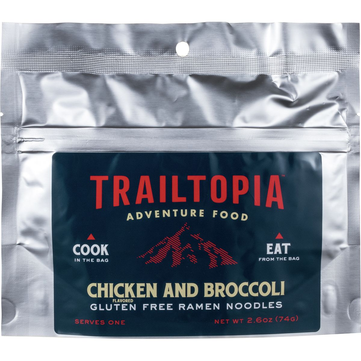 Trailtopia Chicken and Broccoli Ramen Noodles