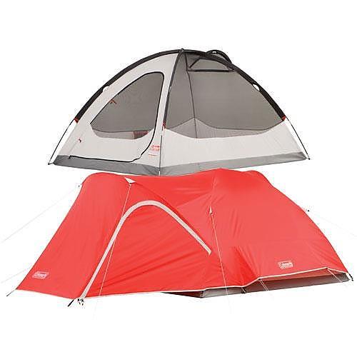 photo: Coleman Hooligan 4 Tent three-season tent