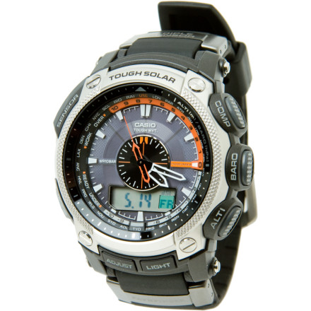 photo: Casio Pathfinder PAW5000 compass watch