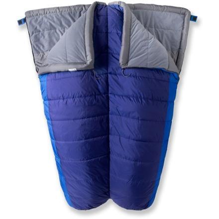 photo: REI Siesta +35 Double warm weather synthetic sleeping bag