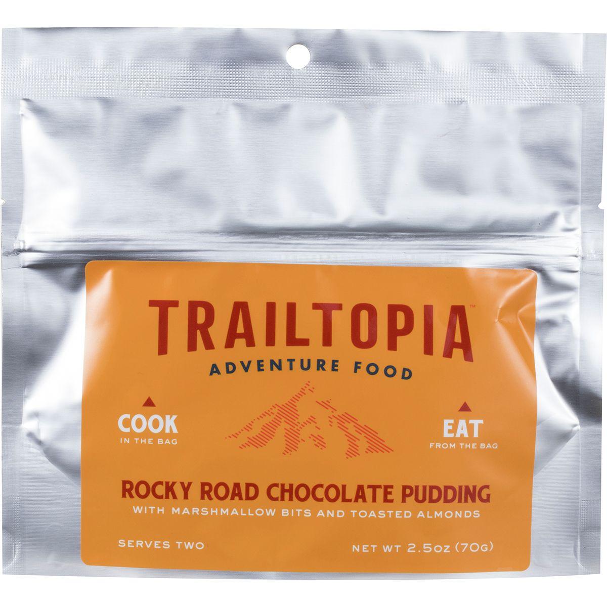 Trailtopia Rocky Road Chocolate Pudding