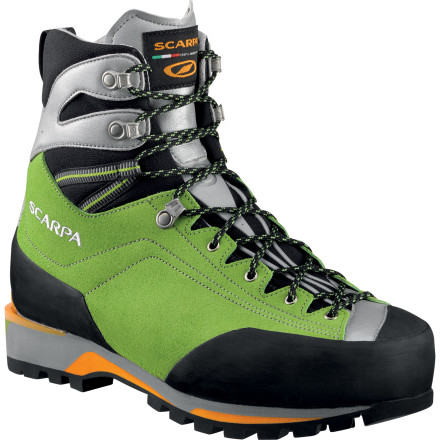 photo: Scarpa Maverick GTX mountaineering boot