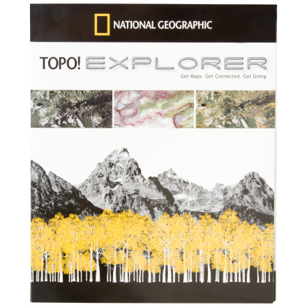 photo: National Geographic TOPO! Explorer DVD map